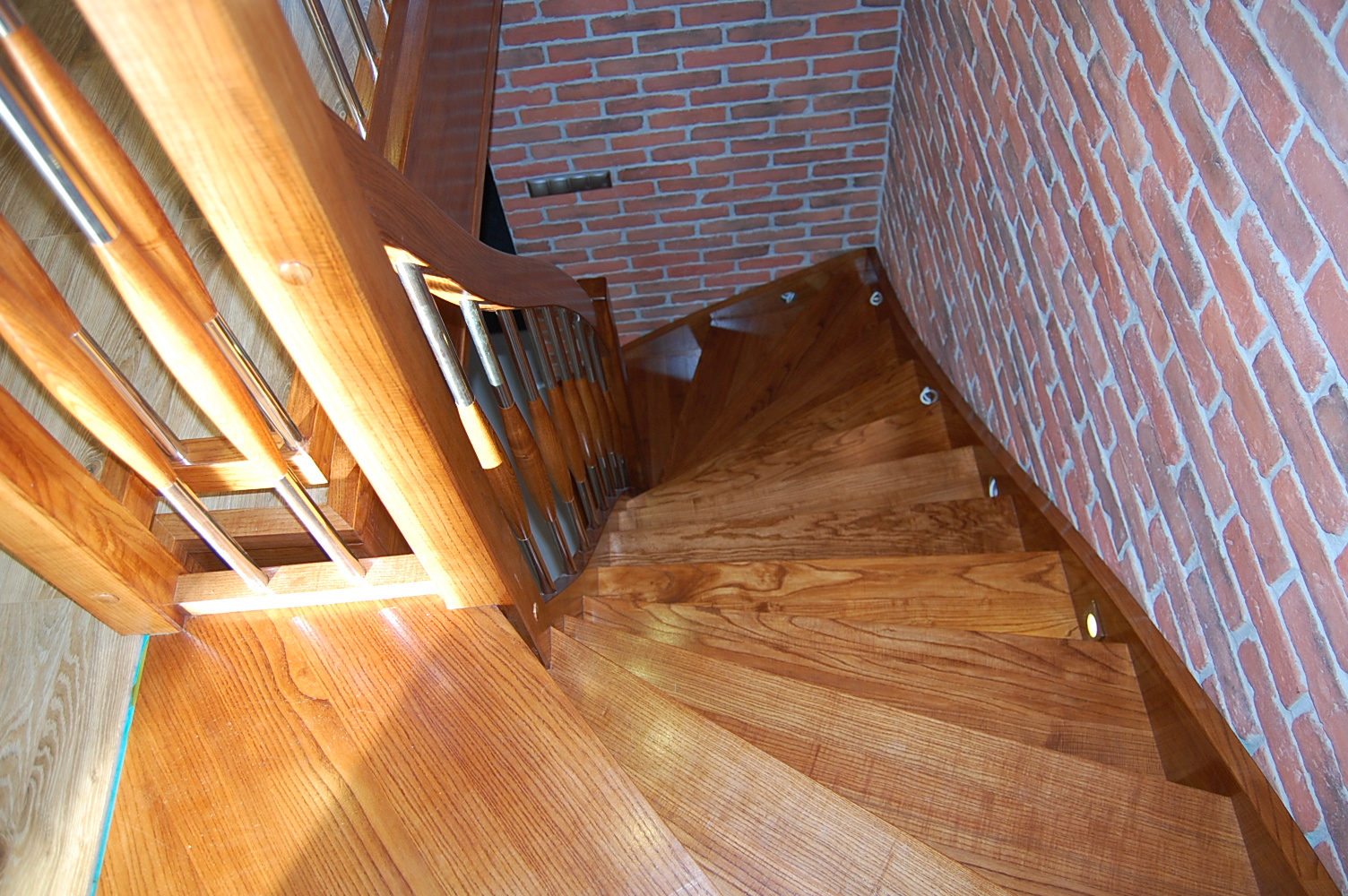 schody samonośne dąb